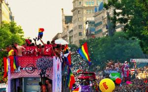 Fiesta del orgullo Gay Madrid